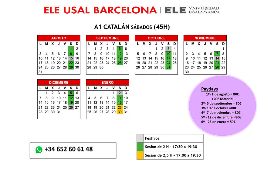 A1 Catalán Agosto 2020